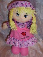 "Barcelona Rag Doll 10"" Plush Soft Toy Stuffed Animal"