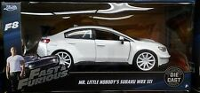 Fast & Furious 8 Mr Little Nobody Subaru WRX STI Diecast Car 1:24 Jada 7in White
