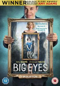 BIG EYES DVD [UK] NEW DVD