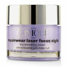 Clinique Repairwear Laser Focus Night Line - Very Dry To Dry Combination 50ml