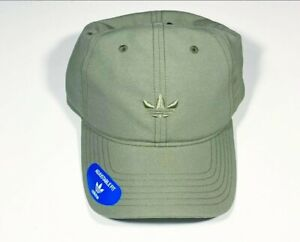 adidas Men's Originals Relaxed Modern Strapback Hat Bball Cap Olive Cargo NWT