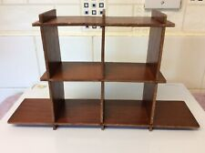 Small Wooden Cabinet, Rustic Look Kitchen/Stair Well Etc 18.5 X 31.5 X 7.5 CM