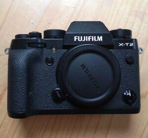 Fujifilm Fuji X-T2 2.43MP Digital SLR Camera - Black low shutter count.