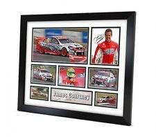 James Courtney Signed photo Framed Memorabilia V8 Supercars Limited Edition