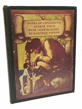 Poems of Childhood ~ First Edition ~ Maxfield Parrish ~ Eugene Field ~ 1904
