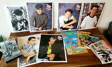 New Kids On The Block Official vtg Fan Club merch comic book photos tape Nkotb