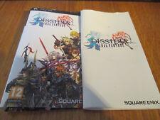 Dissidia : Final Fantasy ~~ Notice + Jaquette (SANS JEU)