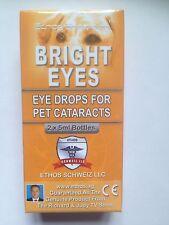 Ethos Bright Eyes Cataract Eye Drops For Pets 1 Box - 2 x 5 ML Bottles