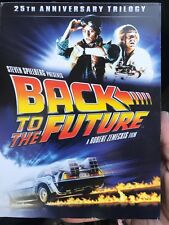 BACK TO THE FUTURE 25TH ANNIVERSARY TRILOGY (4PC) Dvd - Free Post!