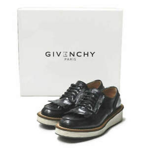 GIVENCHY Italy DERBY MASC ROTTWE Quilted derby patent leather shoes 36(23cm)