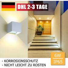 LED Außenleuchte mit Bewegungsmelder Gartenlampe Wandleuchte Außen WandlampeWeiß