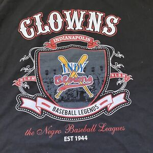 INDIANAPOLIS CLOWNS Shirt XL NLBM Negro Leagues Baseball Indy New Official