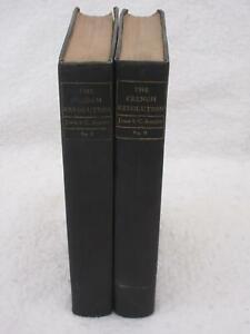 John S. C. Abbott THE FRENCH REVOLUTION 2 Volume Set Harper & Brothers 1887