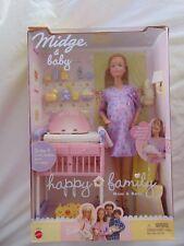 Barbie Happy Family Pregnant  Redhead Midge & Baby 2002  Great GIFT MIP