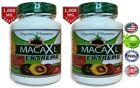Organic maca root black red yellow 120 capsules peruvian maca extreme extract
