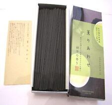 160 bastoncini incenso giapponese al té verde superiore Nippon Kodo Kaori Awase
