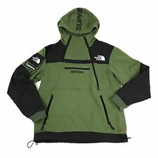 Supreme The North Face steep Tech Hoodie olive L bogo Sweater moss box jacket
