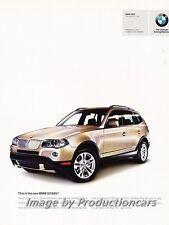 2007 BMW X3 2-page Original Advertisement Print Art Car Ad J691