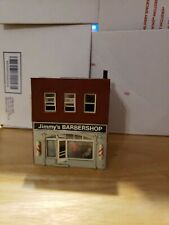 HO Scale Barber Shop Business Store Front