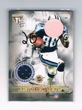 2001 Pacific Titanium Double Sided Jerseys #32 Eddie Berlin/Justin McCareins NM-