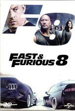 Fast and furious 8 Dwayne Johnson V. Diesel DVD