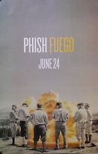 PHISH, FUEGO POSTER  (Y2)