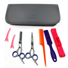 Hair Cutting Scissors Shears Hairdressing Salon Professional Barber 8 Pack Set