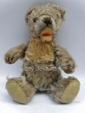 Antique Vintage STEIFF vecchio ORSO orsetto TEDDY BEAR button 17 cm