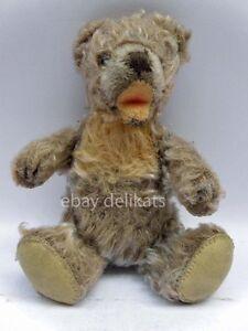 Antique Vintage STEIFF vecchio ORSO orsetto TEDDY BEAR button 17 cm