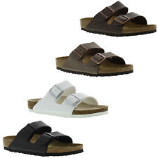 New Authetic Birkenstock Arizona Birko Flor Regular Fit Mens Womens Sandals NIB