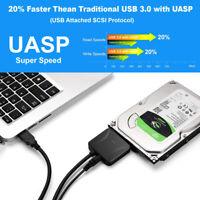 USB 3.0 zu 2.5 Zoll IDE / SATA Festplatten Adapter Konverter mit Datenkabel DE