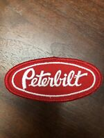 "New Vintage PETERBILT Patch 4""x2"" Iron Or Sew On Not A Knock Off Over 25 Yrs Old"