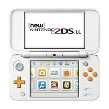 New Nintendo 2DS LL Console System Japanese Version White x Orange