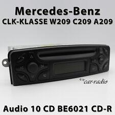 W209 Radio Mercedes Audio 10 CD BE6021 Original Clase CLK Becker Autorradio C209