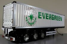 Tamiya R/C 1/14 Evergreen 40FT Container Tractor Trailer 3 Axle Full Option Add