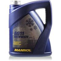 Kühlflussigkeit MANNOL Antifreeze AG11 5 L Special Frostschutz Farbe: blau