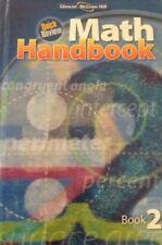 Quick Review Math Handbook, Book 2, Student Edition Glencoe Homeschool