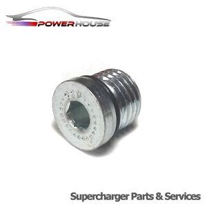 Jaguar XF Super V8 4.2 Eaton M112 Supercharger OIL FILL DRAIN PLUG 2008 2009