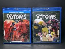 Armored Trooper Votoms Complete OVA Collection 1 & 2 (Blu-Ray, Anime, 3-Discs)
