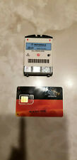 Original Motorola Iridium Satellite Battery & Blank SIM card for 9505A phones