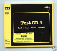"Opus 3 Records ""Test CD No.4"" JVC Japan XRCD XRCD24 Brand New Sealed CD Opus3"
