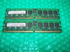 2 GB IBM (2x 1gb) PC2-3200R 400 MHz DDR2 RAM Reg ECC