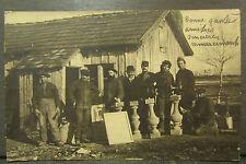 cpa photo chasseur alpin 51e prisonnier dillingen guerre 14 18 kreigsgefangenen