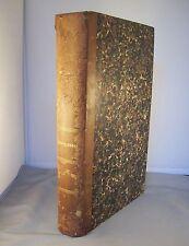 LE MAGASIN PITTORESQUE / E. CHARTON / RELIURE 1/2 CUIR 1859 1860 / GRAVURES