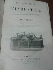 LES MERVEILLES DE L'INDUSTRIES Vol. 2 - '800 - Furne, Jouvet et C., Editeurs