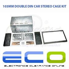 Voiture universel 100mm stéréo panneau avant fascia DOUBLE DIN 2 DIN cage Kit de montage