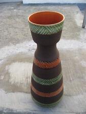 Floor Vase 70er 70s West Germany Design Pottery Bodenvase