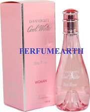 COOL WATER SEA ROSE 3.3 / 3.4 OZ EDT SPRAY FOR WOMEN NEW IN A BOX BY DAVIDOFF