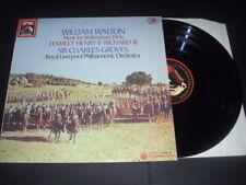 EMI EL2701181 Digital Stereo: WALTON Music for Shakespeare Films: GROVES