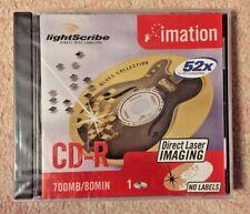 1x Imation LightScribe CD-R 80 Min 700MB 52x